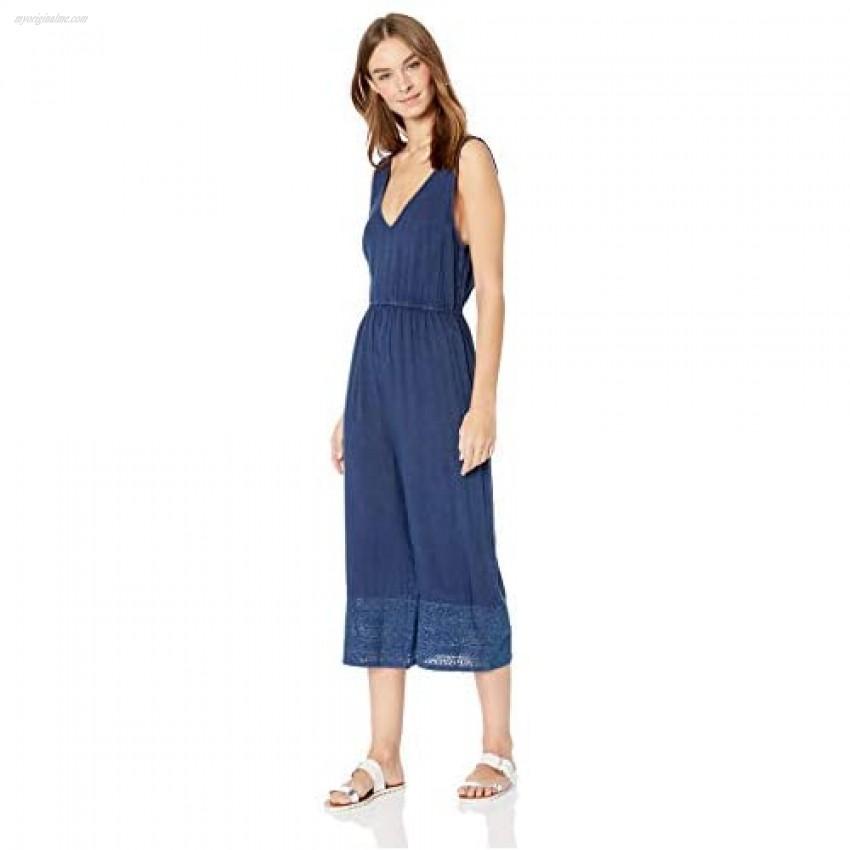 Splendid Women's Swimsuit Cover Up Jumper with Wide Leg