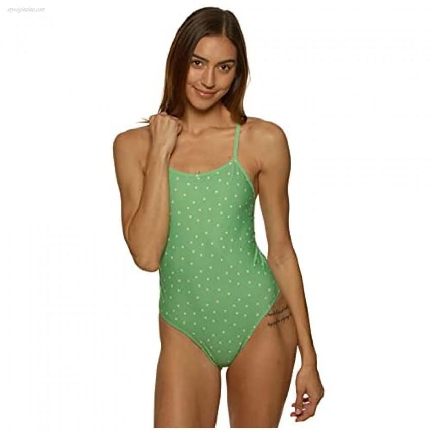 JOLYN Women's Fixed-Back Brandon2 One-Piece Swimsuit Prints/Helen