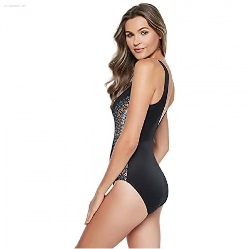 Miraclesuit Women's Slimming Swimwear Temptress Tummy Control Soft Cup One Piece Swimsuit