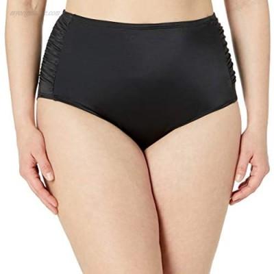 Brand - Coastal Blue Women's Plus Size Control Swimwear Bikini Bottom