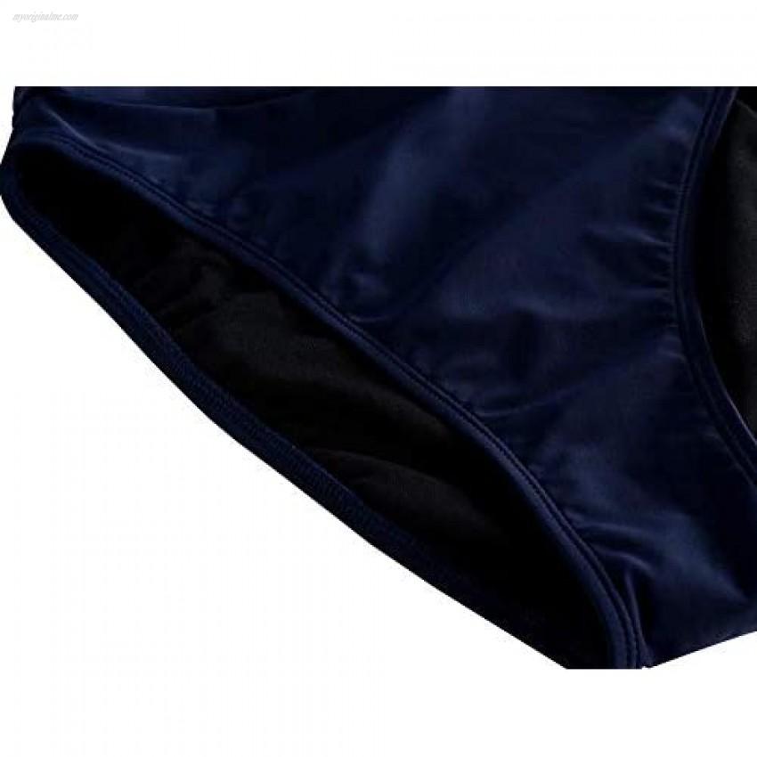 Mycoco Women's Cheeky Bikini Bottoms High Cut High Leg Swimsuit Brief