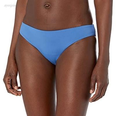 Seafolly Women's Hipster Bikini Bottom Swimsuit Active Marina Blue 8