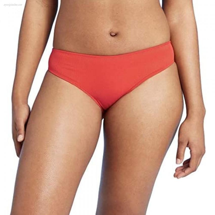 Shade & Shore Women's Textured Bikini Bottoms