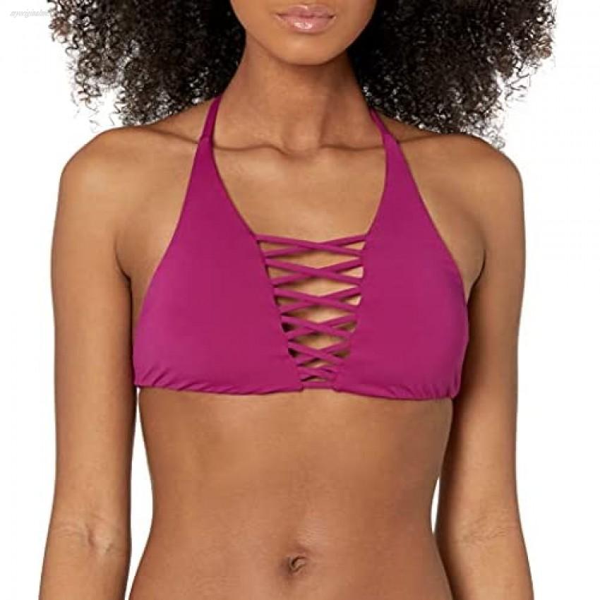 Billabong Women's Sol Searcher Strappy Crop Swimsuit Bikini Top