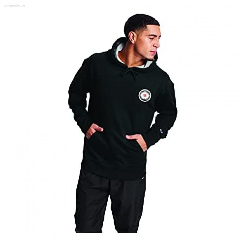 Champion Men's Powerblend Fleece Pullover Hoodie Graphic
