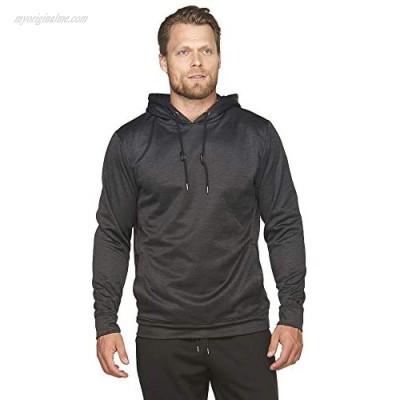 Colosseum Active Men's Juniper Poly Fleece Hooded Pullover