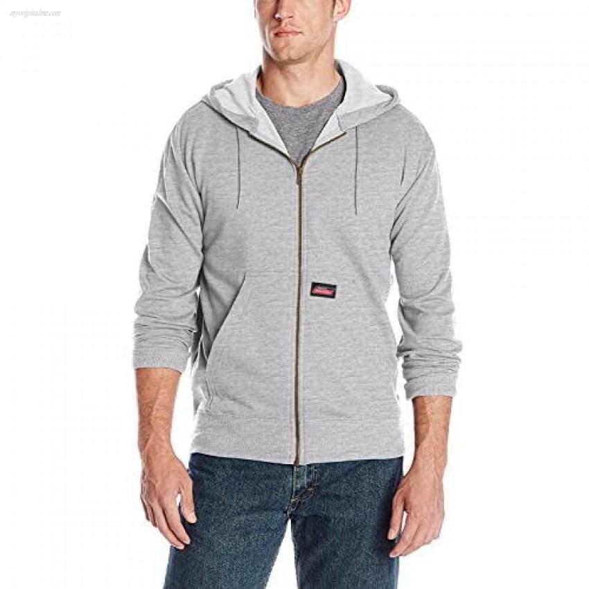Dickies Mens Lightweight Zip Up Fleece Hoodie Color Options