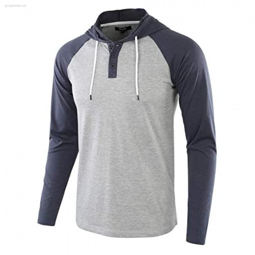 Estepoba Mens Casual Athletic Fit Lightweight Active Sports Jersey Shirt Hoodie