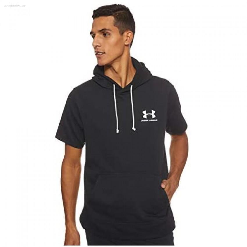 Under Armour Men's Sportstyle Terry Short Sleeve Hoodie