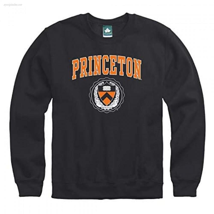 Ivysport Princeton University Adult Unisex Crewneck Sweatshirt Heritage Black