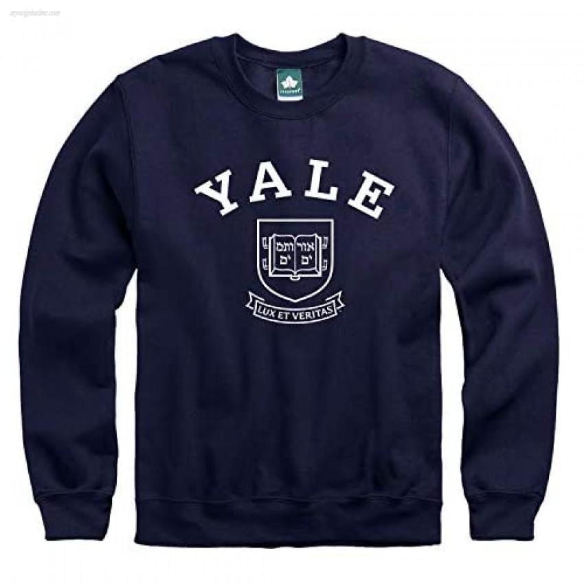 Ivysport Yale University Adult Unisex Crewneck Sweatshirt Heritage Navy Small
