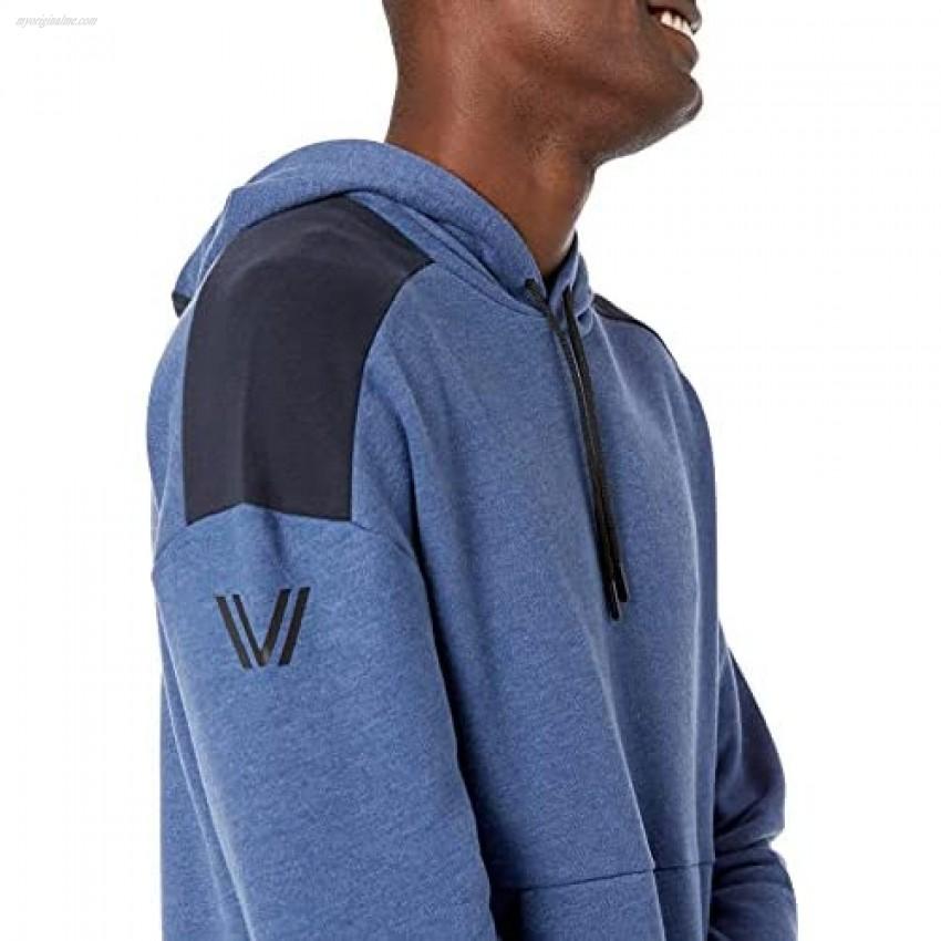 Peak Velocity Men's Medium-weight Fleece Pullover Loose-fit Sweatshirt