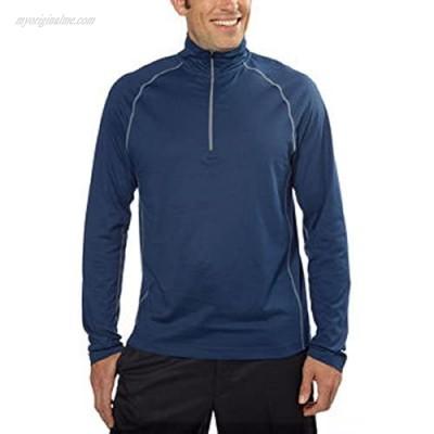 Cloudveil Men's 1/4 Zip Mock Neck Pullover