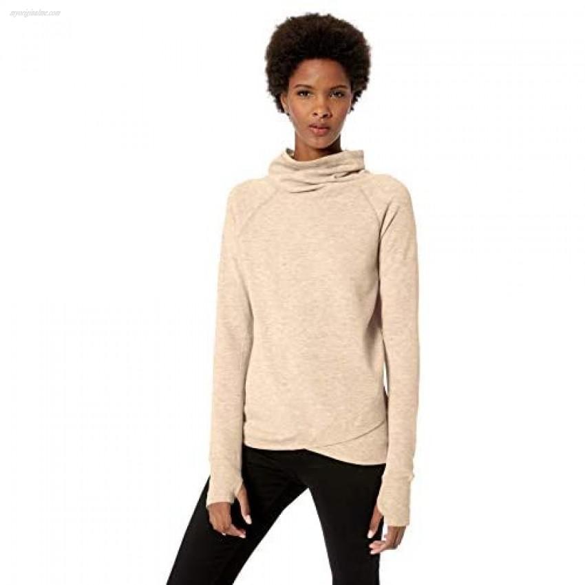 Jockey Women's R&r Cowl Neck Sweatshirt