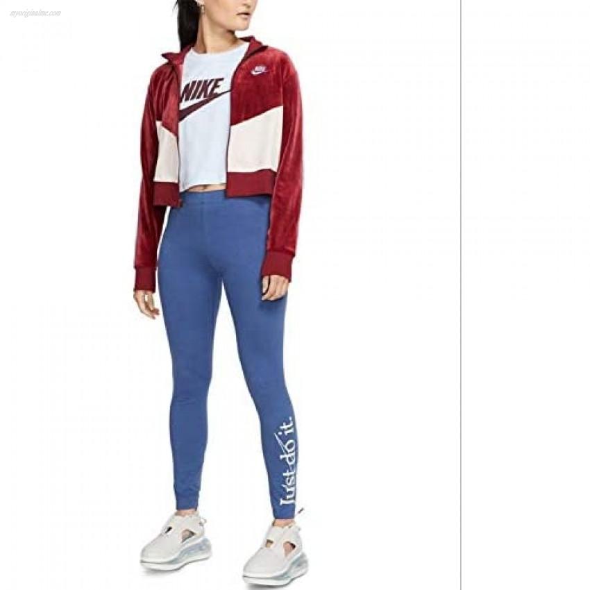 Nike Womens Velvet Fitness Athletic Jacket Red M