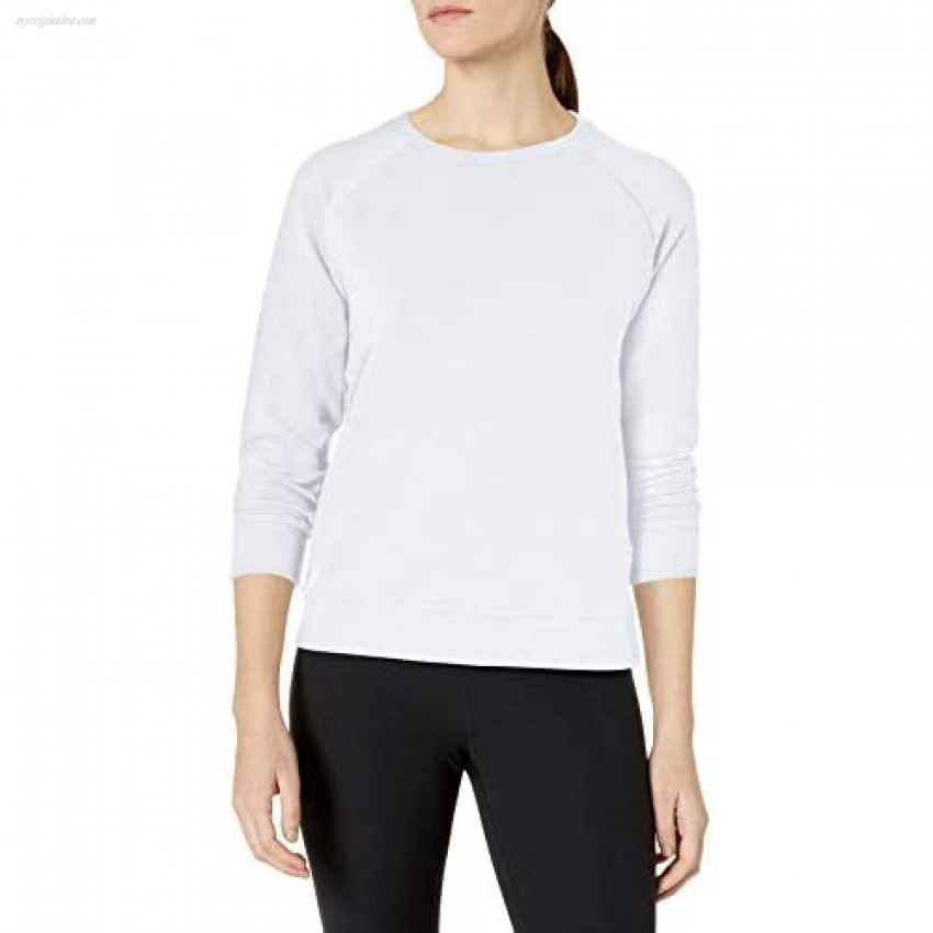 Under Armour Womens Plush Terry Crew Top
