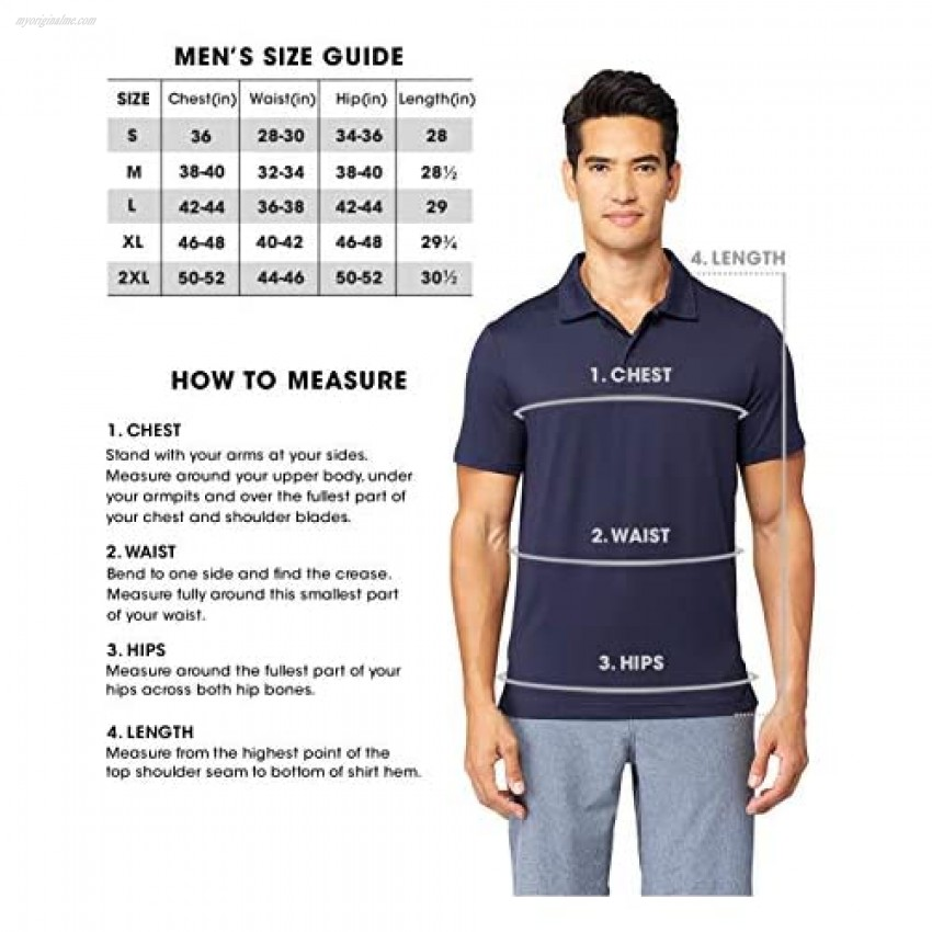 32 DEGREES Mens Cool Quick Dry Active Basic Crew T-Shirt