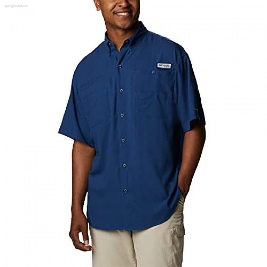 Columbia Men's Tamiami Ii Short Sleeve Shirt Carbon X-Large