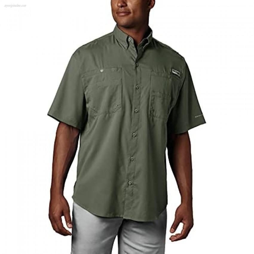 Columbia Men's Tamiami II Short Sleeve Shirt Cypress 5X Tall