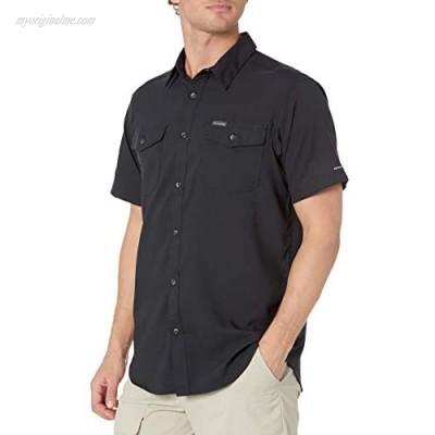 Columbia Men's Utilizer II Solid Short Sleeve Shirt Black Large