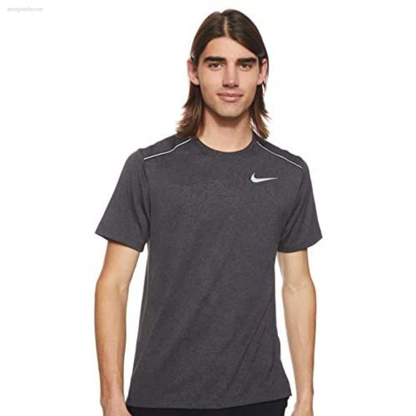 Nike Men's Dry Miler Top Short Sleeve Jaquard GFX