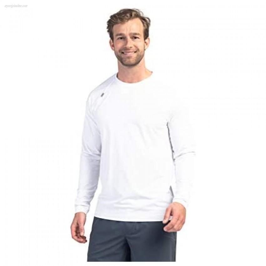 Rhone Men's Reign Long Sleeve Athletic Moisture Wicking Anti-Odor Workout Shirt