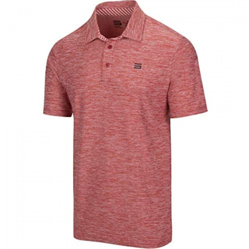 Three Sixty Six Golf Shirts for Men - Dry Fit Short-Sleeve Polo Athletic Casual Collared T-Shirt