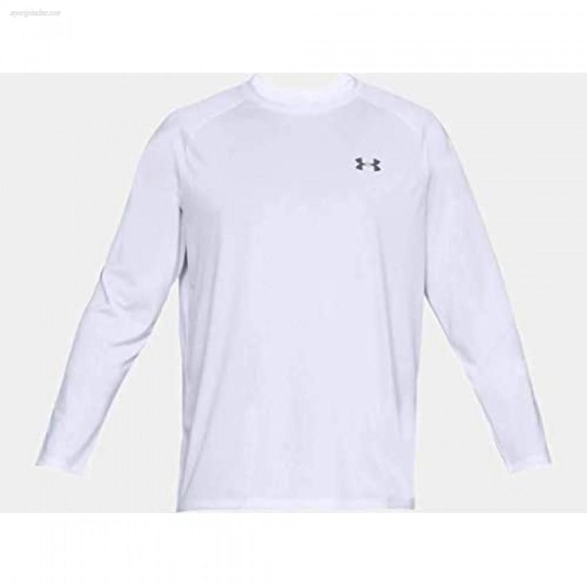 Under Armour Men's Tech 2.0 Long Sleeve T-Shirt Carbon Heather (090)/Black XX-Large