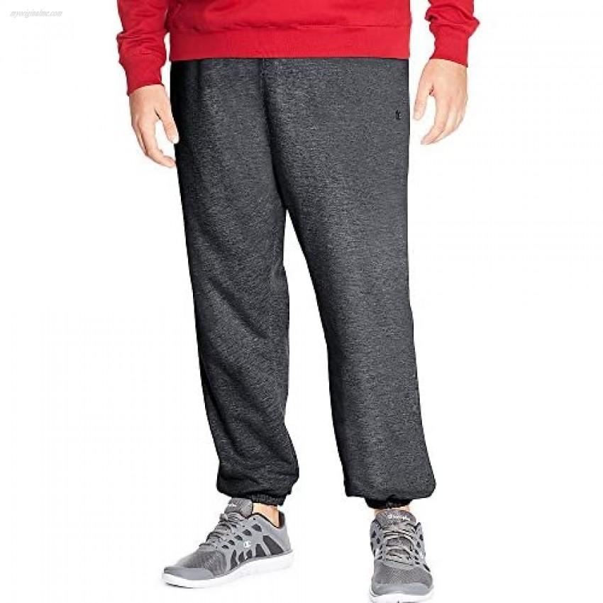 Champion Men's Big-Tall Fleece Pant Grey Heather X-Large/Tall