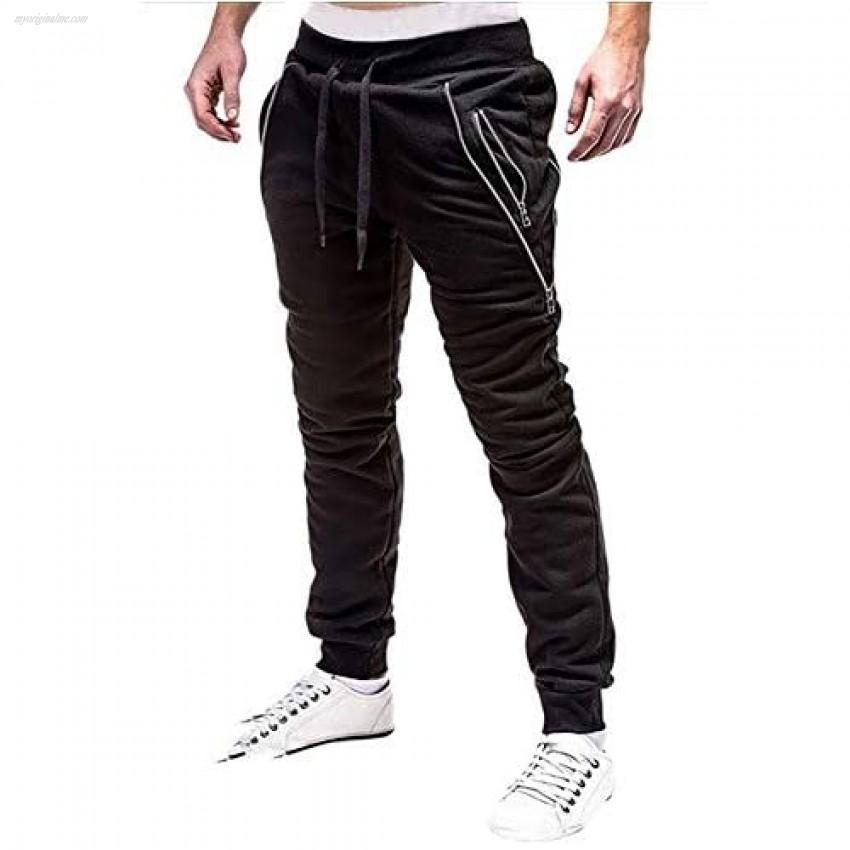 lexiart Mens Fashion Jogger Sports Pants Sweatpants Trousers Long Pants