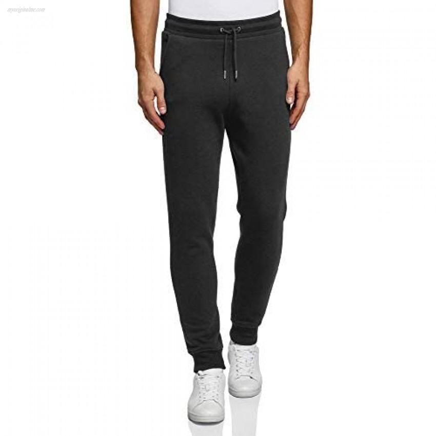oodji Ultra Men's Drawstring Jersey Trousers