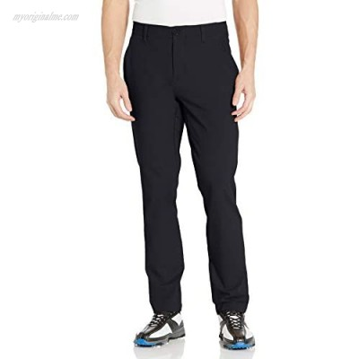 Under Armour Men's Iso-Chill Taper Golf Pants  Black (001)/Halo Gray  38/36