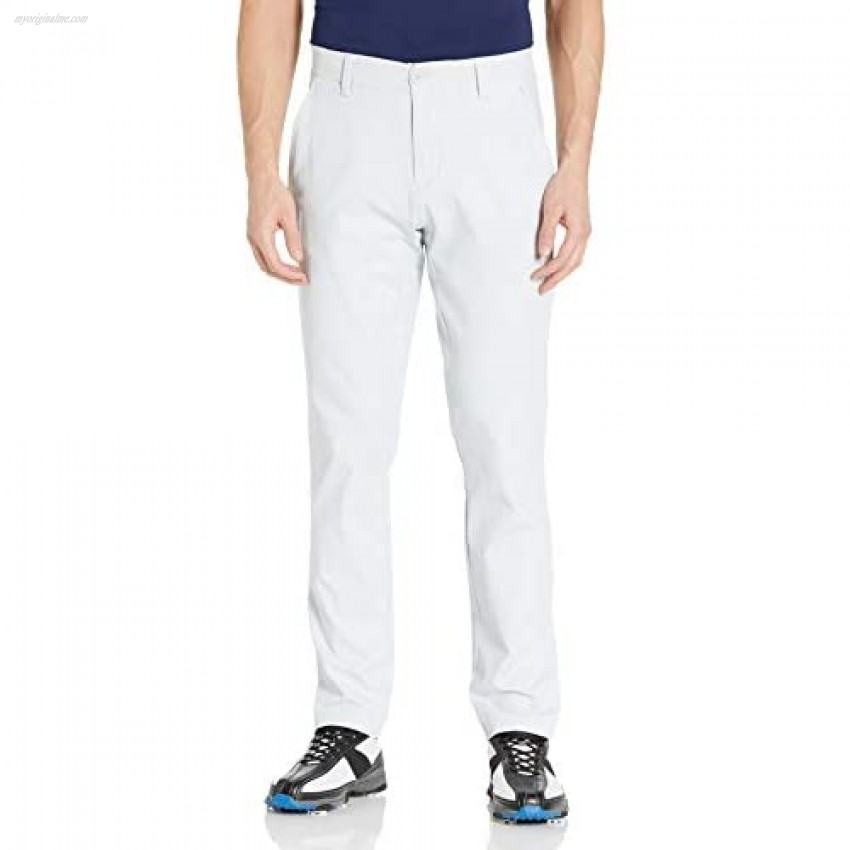 Under Armour Men's Iso-Chill Taper Golf Pants  Halo Gray (014)/Pitch Gray  40/32