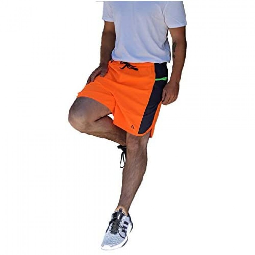 Agama High-Visibility Running Shorts Quick Dry Flexible Material Running Style Pockets
