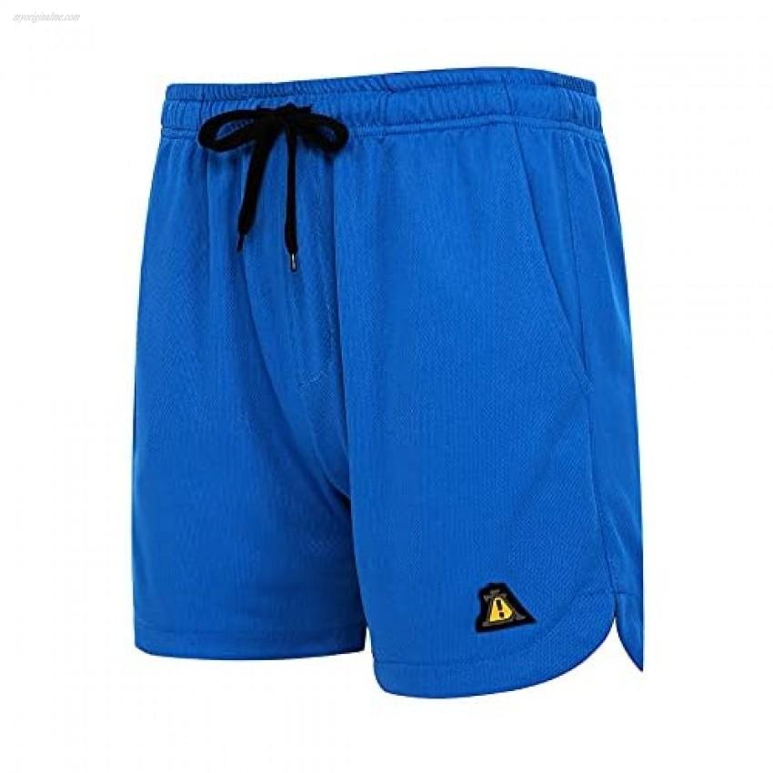 AOTORR Men's Summer Elastic Waist Casual Short Stretch Cotton Pocket Shorts Daily Wear Walking