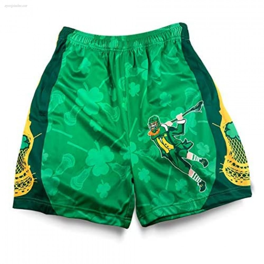 Premium Holiday Lacrosse Athletic Shorts   Various Designs   Youth Sizes