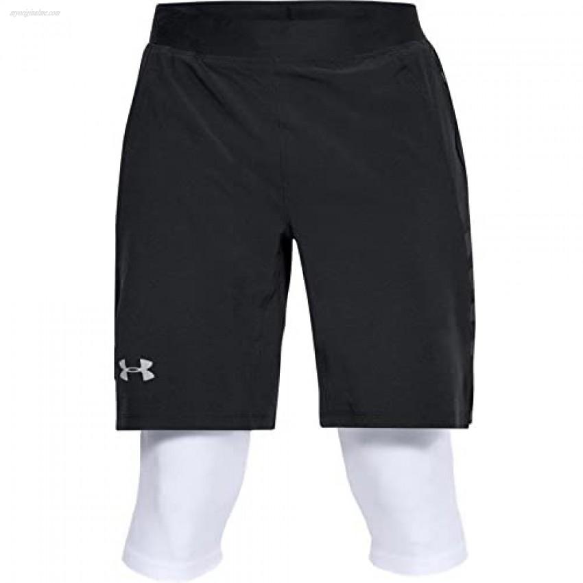 Under Armour Men's Speedpocket Long 2-in-1 Shorts