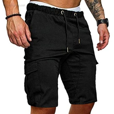 ZNU Mens Slim Fit Jogger Cargo Pants Casual Outdoor Sweatpants with Pockets
