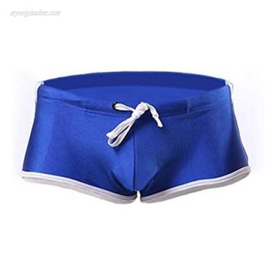JATOBO Men Swim Briefs Swim Trunks Quick Dry Square Leg Boxer Brief Swimwear Shorts Nylon Swimming Trunks Surf Board for Men