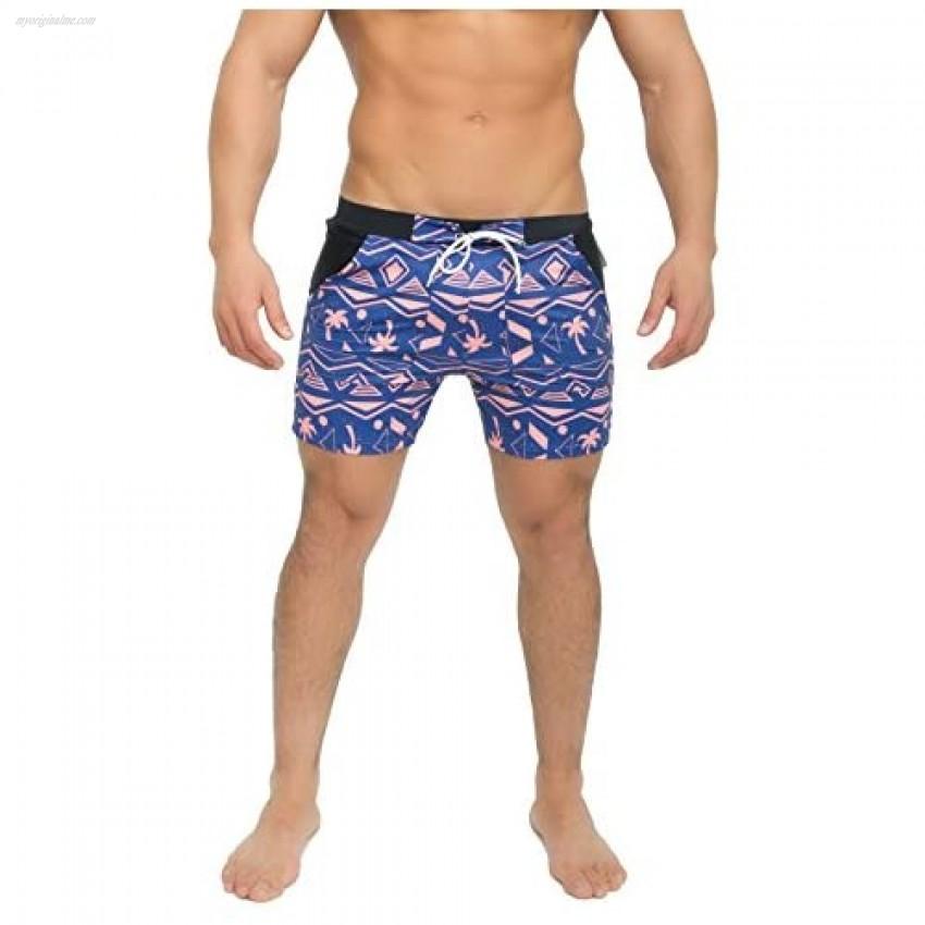 Taddlee Men Swimwear Long Basic Swimsuits Swim Surf Board Boxer Trunk Shorts XXL