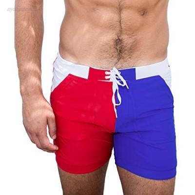 Taddlee Men's Swimwear Basic Long Swimming Trunk Surf Shorts Swimsuits Pocket