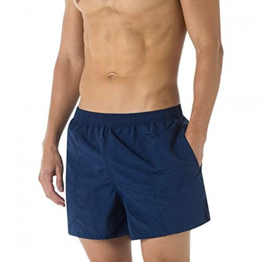 Dolfin Men's Water Short Quick Dry Lined Swimsuit with Pockets