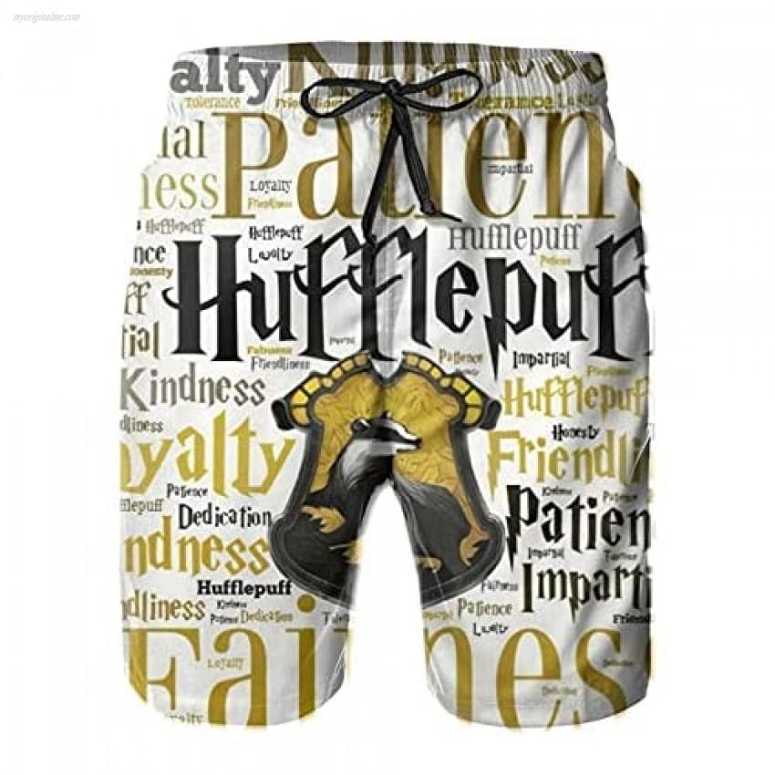 HODENG Swim Trunks Beach Shorts Mens Printed Swim Shorts Funny Swimwear Bathing Suits