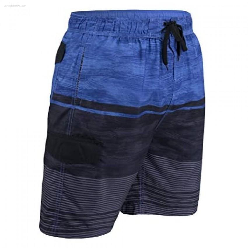 Matereek Men's Shorts Grey Heaven Sweamwear Swim Trunks