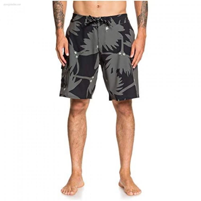 Quiksilver Men's Angler Forest Beachshort 20 Swim Trunk
