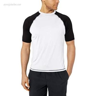 Burnside Men's Sun Protection Rashguard Swim Shirt