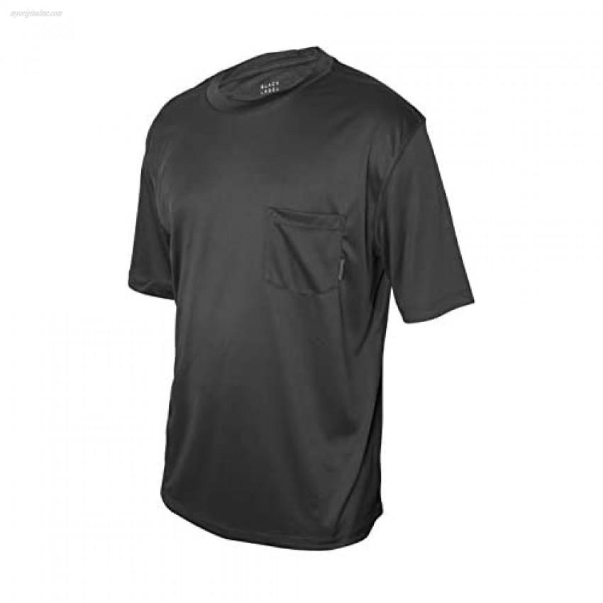 ZeroXposur Mens Swim Shirt Solid Rash Guard Top UV Sun Protection UPF 50+