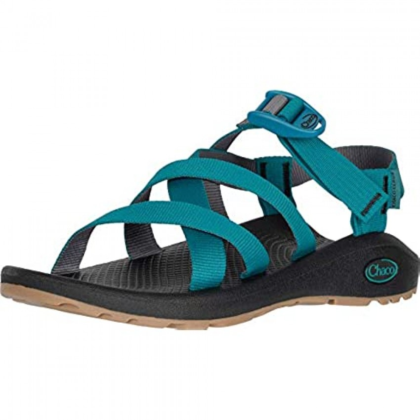 Chaco Women's Banded Z Cloud Sandal Everglade Gray 6
