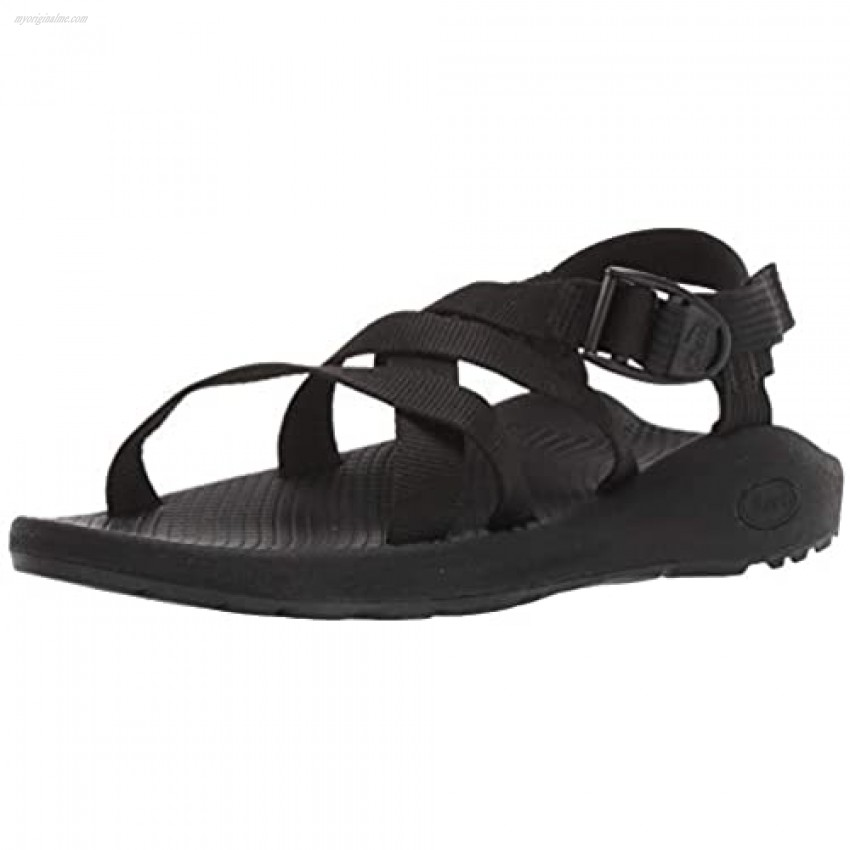 Chaco womens BANDED Z CLOUD Sport Sandal SOLID BLACK 8 M US