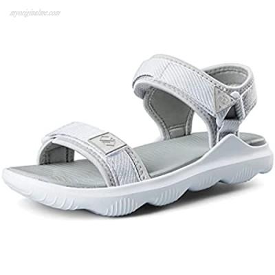 COASIS Women's Walking Sandals for Athletic & Outdoor Comfortable Waterproof Water Sandals with Adjustable Hook and Loop